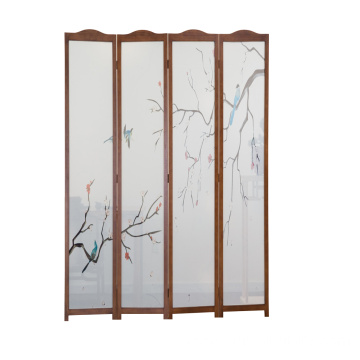 Wood Living Room Restaurant Decorative Room Divider Wooden Screen